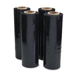 black-stretch-film